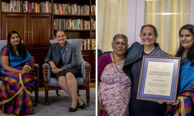 Indira Gandhi Gets Women of Courage Recognition from US Embassy, Dedicates it to M'sian Single Parents - WORLD OF BUZZ 3