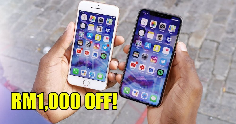 Machines Members Can Get RM1,000 OFF iPhone 8 or X on March 9! - WORLD OF BUZZ 2