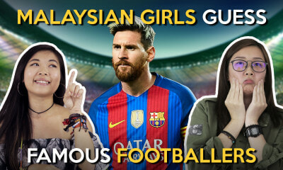 Malaysian Girls Guess Malaysian Footballers - WORLD OF BUZZ