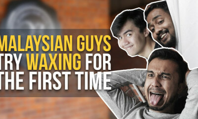 Malaysian Guys Try Waxing for the First Time - WORLD OF BUZZ