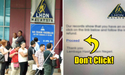 Malaysians Should be Aware of This 'LHDN' Email Scam During the Tax Season - WORLD OF BUZZ