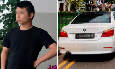 Man Rents a BMW, Forges Fake Number Plate, Speeds Up in Font of Camera Just to Kena His Neighbour - WORLD OF BUZZ
