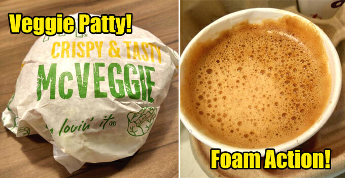 McDonald's Launches New McVeggie and Teh Tarik, Here's Our Honest Review - WORLD OF BUZZ