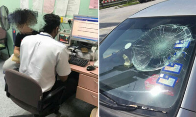 M'sian Dato Beats Up Salesman and Smashes Windshield After Being Asked to Pay Up Debt - WORLD OF BUZZ
