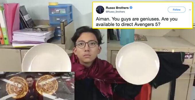 M'sian Students Hilariously Shoot Parody of The Avengers Trailer, Movie Directors Responded! - WORLD OF BUZZ