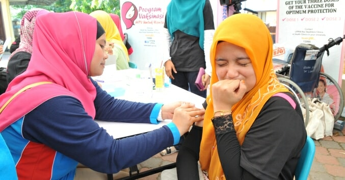 M'sian Women Born Between 1991 to 1996 Can Get Free HPV Vaccines Now - WORLD OF BUZZ