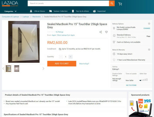 Netizen Calls Out Lazada & Mudah For Allowing Apple Gadget Scams on Their Sites - WORLD OF BUZZ 12