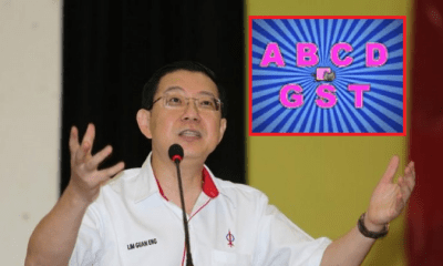 "Police Reports Lodged Against Lim Guan Eng For Playing ""ABCD GST"" Song to Children - WORLD OF BUZZ"