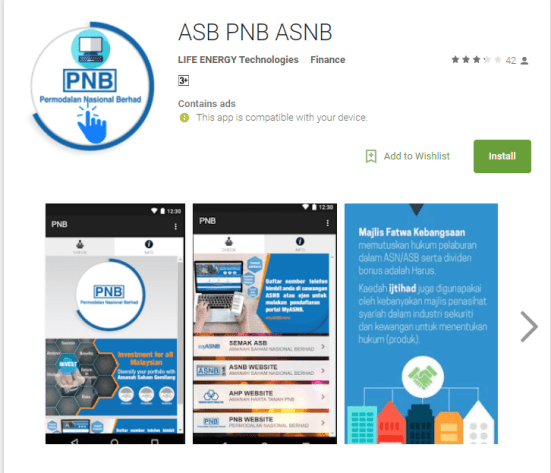 There's an Unauthorised ASNB App That Can Steal Your Account Information - WORLD OF BUZZ 1