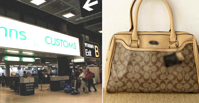 Traveller Gets Taxed RM2,400 by Thai Customs Because Her Handbag is Too New - WORLD OF BUZZ