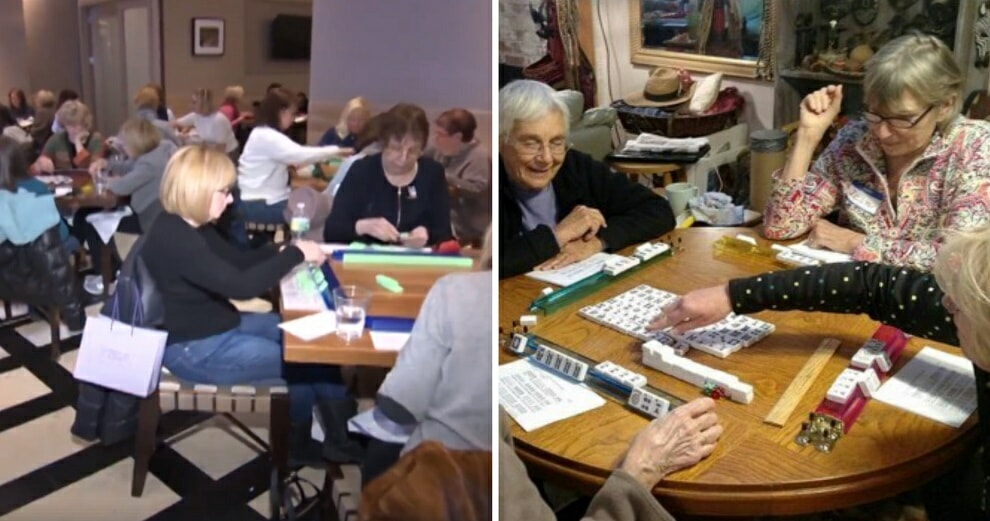 Viral Video Shows American Aunties Expertly Playing Mahjong - WORLD OF BUZZ 8