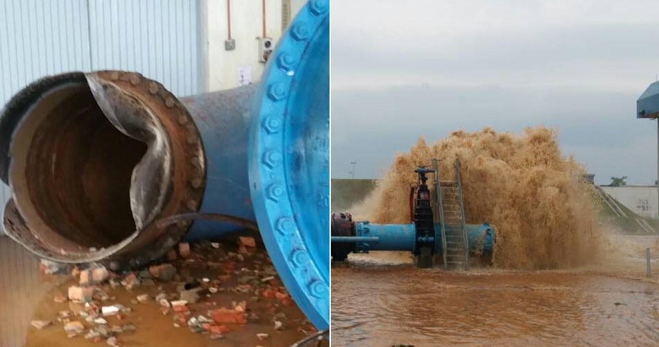 Water Cuts In Klang Valley Extended After Vessel System Bursts - World Of Buzz 4