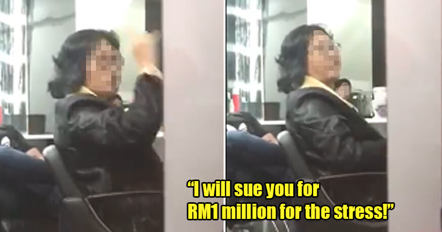 Woman Threatens To Sue Hair Salon For Rm1 Million For Stress Caused And Refuses To Make Payment - World Of Buzz