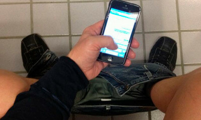 Young Man Sits on Toilet Bowl and Scrolls Through Phone For 30 Mins, Became Paralysed - WORLD OF BUZZ