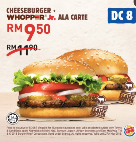 16 Free Unlimited Burger King Up For Grab! - WORLD OF BUZZ 7
