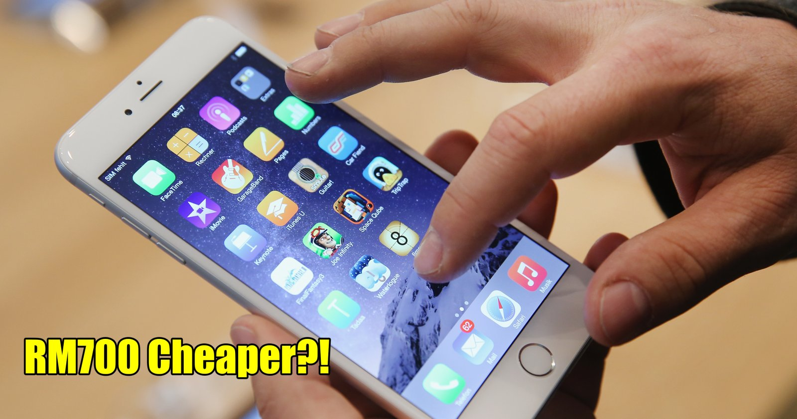 You Can Now Buy an iPhone 6 for RM700 Cheaper Than Its Original Price in Malaysia! - WORLD OF BUZZ