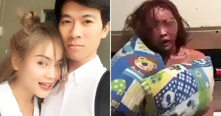 BF Suspects GF is Cheating On Him, Viciously Abuses Her on Facebook Live - WORLD OF BUZZ