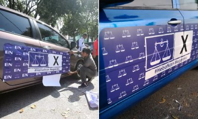 BN is Paying Drivers RM300 to Plaster Their Cars with Propaganda Stickers - WORLD OF BUZZ 6