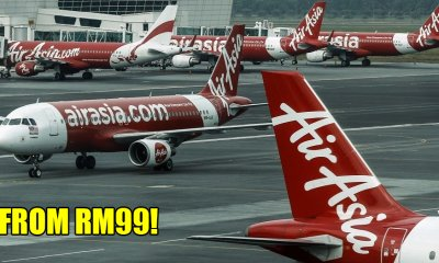 AirAsia is Offering M'sians Flights For as Low as RM99 to Fly Home to Vote Starting 13 April - WORLD OF BUZZ