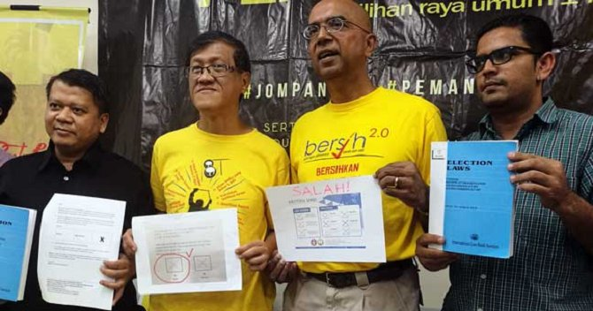 Bersih's Member Just Revealed 39 Ways You Can Cast a Vote, Here's What You Need To Know - WORLD OF BUZZ