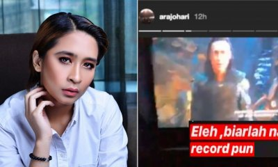 """It's my right!"" Ara Johari Uploads Snippets of Avengers on her IG Story, Comes Under Fire from Netizens - WORLD OF BUZZ"