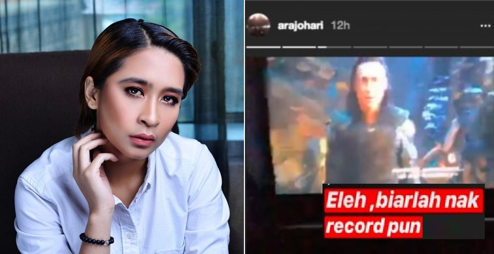 """""""It's my right!"""" Ara Johari Uploads Snippets of Avengers on her IG Story, Comes Under Fire from Netizens - WORLD OF BUZZ"""
