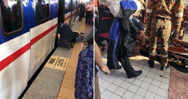 Kelana Jaya Lrt Experiences Delays After Lady Faints And Falls On Tracks As Train Approached - World Of Buzz 7