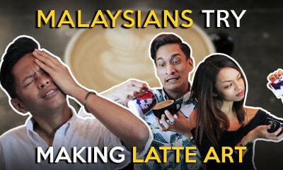 Malaysians Try Making Latte Art - WORLD OF BUZZ