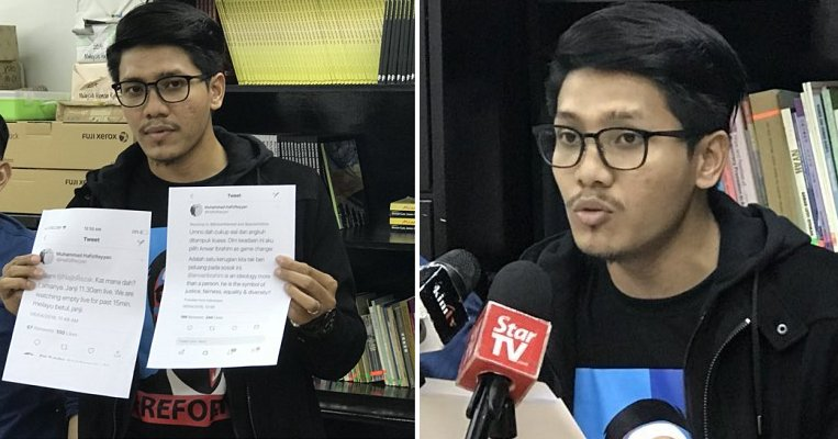M'sian Arrested and Twitter Account Confiscated by MCMC for Criticising PM Najib and Umno - WORLD OF BUZZ 7