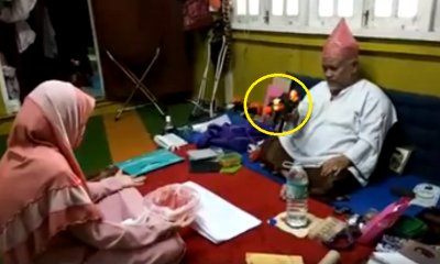 M'sians Confused Over Viral Video Of Bomoh Using Toy Gun to Treat Patient - WORLD OF BUZZ