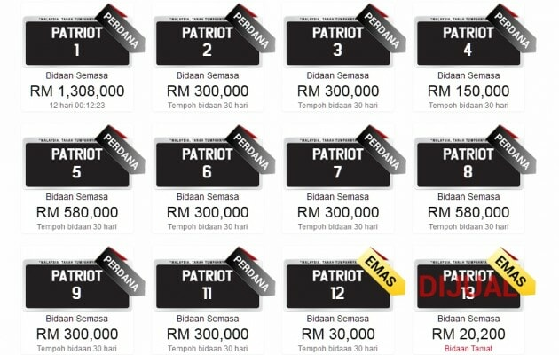 Number Plates In Malaysia You Would Not Believe Cost As Much As They Do - World Of Buzz 1