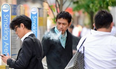 Smokers Banned from Taking Elevators for 45 Minutes After Ciggie Break - WORLD OF BUZZ 3