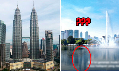 The Twin Towers Disappear in BN Poster, But Netizens Can Still See The Reflection - WORLD OF BUZZ