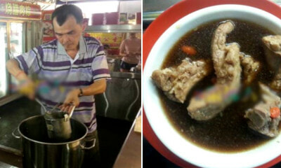 This Awesome Stall is Selling a Bowl of Delicious Bak Kut Teh at Only RM5! - WORLD OF BUZZ