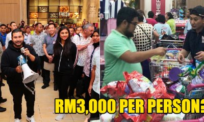 TMJ Just Spent Over RM1 Million to Pay for All Shoppers' Groceries in Aeon Tebrau - WORLD OF BUZZ 7