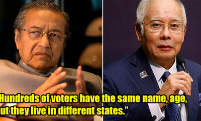 Tun Mahathir Publicly Exposes All Najib's Dirty Secret in Winning the General Election - WORLD OF BUZZ