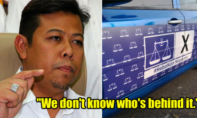 Umno Denies Involvement in BN-Sticker Campaign, Says It's Fake News - WORLD OF BUZZ