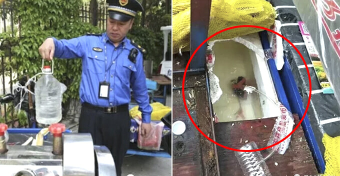Vendor Exposed of Mixing Dirty Syrup with Sugar Cane Juice to Maximise Profit - WORLD OF BUZZ