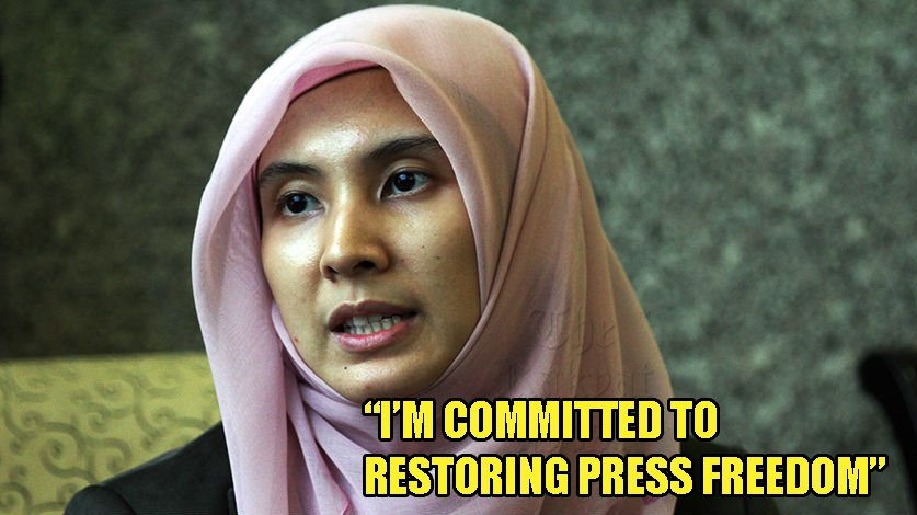 Nurul Izzah: Committed to Ensure Free and Fair Media in Malaysia - WORLD OF BUZZ 2