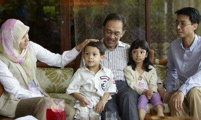 Anwar Buys Ice Cream For All Nine Grandchildren After Release, Says It's His Promise To Them - WORLD OF BUZZ