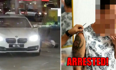 Alleged Mastermind of JB Petrol Station Murder Nabbed in Thailand After 6 Months On the Run - WORLD OF BUZZ
