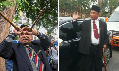 Raja Bomoh Suffers FOMO So He Paid a Visit to Najib's House - WORLD OF BUZZ