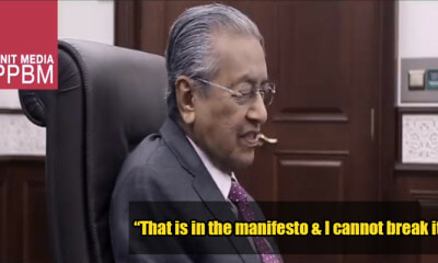 BREAKING: Tun M Steps Down As Education Minister to Honor PH Manifesto - WORLD OF BUZZ 1