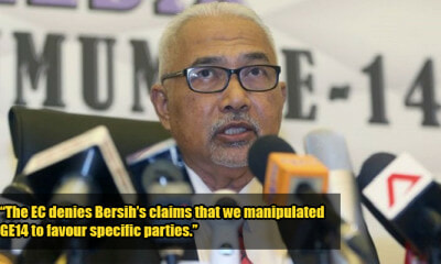 EC Denies Bersih's Claims, Says They Were Transparent & Did Not Manipulate GE14 - WORLD OF BUZZ