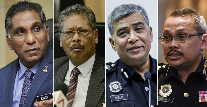 First Najib and Rosmah, Now These 4 Gentlemen Getting Barred From Leaving Malaysia - WORLD OF BUZZ