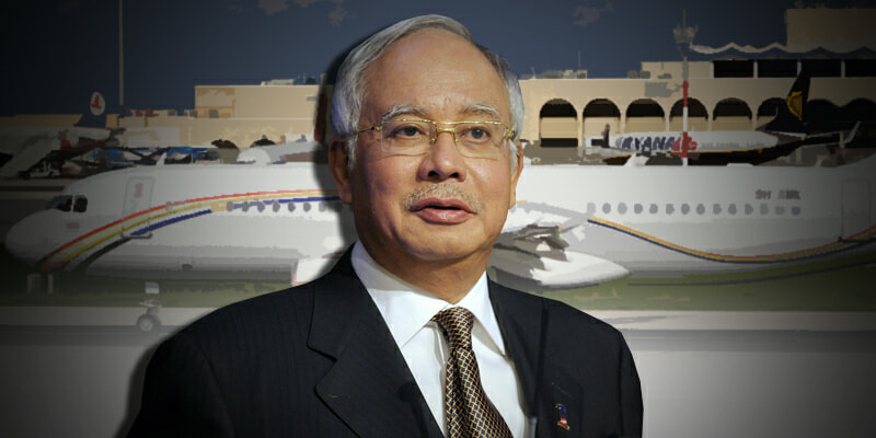 Former Malaysian Leader and Wife Allegedly Scheduled Private Jet to Indonesia - WORLD OF BUZZ