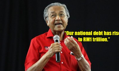 """Malaysia Incurred A RM1 Trillion Debt Because Of The Previous Government,"" Says Tun M - WORLD OF BUZZ"