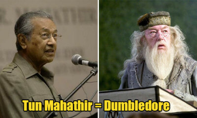 Here's Why Tun M and X Other M'sian Ministers Are Actually Harry Potter Characters IRL - WORLD OF BUZZ 1