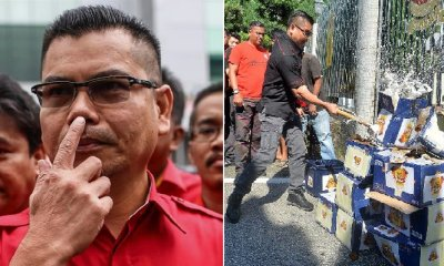 Jamal Yunos' Smashed Beer Bottles Stunt Gets Him Charged for Being Public Nuisance - WORLD OF BUZZ 3