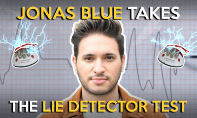 Jonas Blue Takes the Lie Detector Test - WORLD OF BUZZ